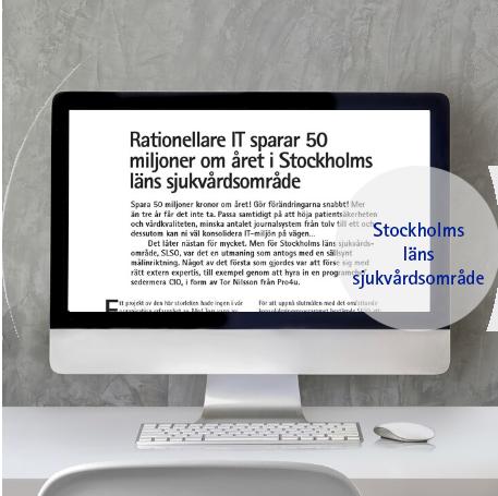 Kundcase Stockholms läns sjukvårdsområde
