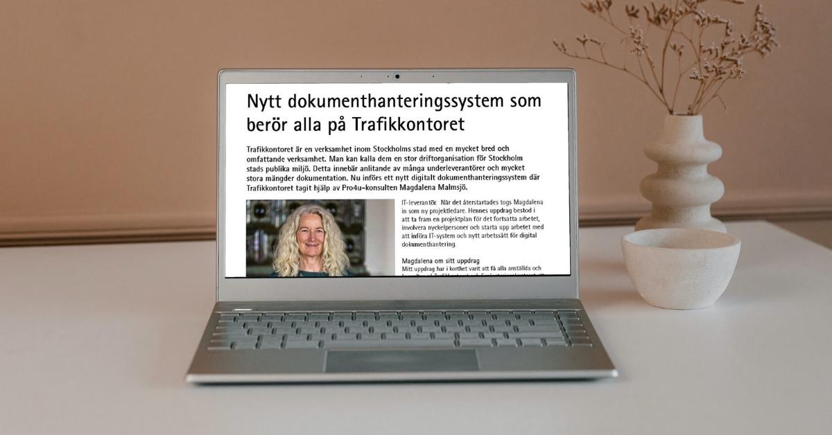 Kundcase Trafikkontoret Dokumenthanteringssystem